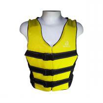 Colete Salva Vidas Classe V Esporte Tam P Amarelo Mar E Cia - Mar E Cia