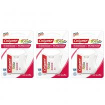 404bcf31f Colgate Total 12 Fio Dental 25m (Kit C 03) -