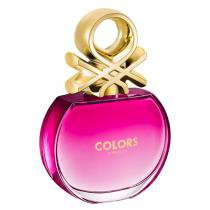 Colors Pink Benetton - Perfume Feminino - Eau de Toilette - 80ml - Benetton