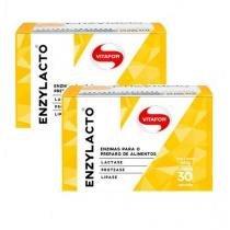 Combo 2 - Enzylacto Ultra - 30 Sachês de 2g - Vitafor -