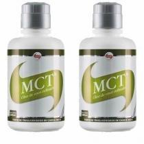 Combo 2 - MCT Oleo de Coco Refinado - 500ml - Vitafor -