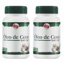 Combo 2 - Óleo de Coco Extravirgem 1mg - 120 Cápsulas - Vitafor -