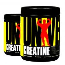 COMBO 2 UNIDADES - Creatina Powder 200g - Universal Nutrition -