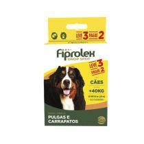 Combo Fiprolex Cães acima 40kg Anti-pulgas e Carrapatos (LEVE 3 pague 2) Ceva - Ceva