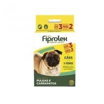 Combo Fiprolex Cães até 10kg Anti-pulgas e Carrapatos (LEVE 3 pague 2) Ceva - Ceva