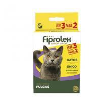 Combo Fiprolex Gatos Anti-pulgas (LEVE 3 pague 2) Ceva -