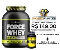 combo force whey 2kg + metildrol 60 tabs - F2-force full