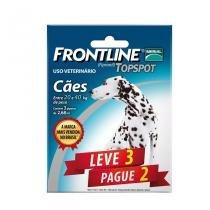 Combo Frontline Top Spot Cães 20 a 40kg Merial 3 pipetas - Descrição marketplace -