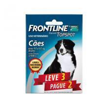 Combo Frontline Top Spot Cães 40 a 60kg Merial 3 pipetas - Descrição marketplace -