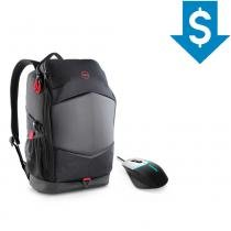 Combo Gamer Mochila para Notebook Dell + Mouse Alienware AW558 -
