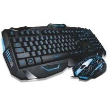 Combo gamer multilaser mouse 2000dpi + teclado tc195 -