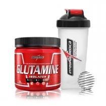 Combo Glutamina 300g + Coqueteleira - IntegralMedica -