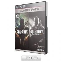 Combo Pack - Call of Duty: Black Ops e Call of Dut - Black Ops II para PS3 - Activision