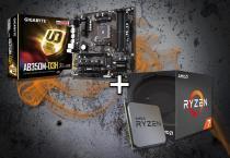 Combo Placa Mãe Gigabyte AB350M + Processador Ryzen 7 1700x - AMD