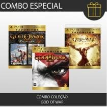 COMBO PS3 GOD OF WAR - Jogos PlayStation 3