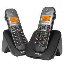 Combo Telefone Sem Fio Ts 5122 Preto + 1 Ramal Intelbras - Intelbras