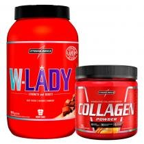 d60070dad Combo - W-Lady 907g + Collagen Powder 300g - Integralmédica - Integralmedica