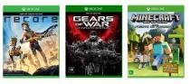 Combo XBOX ONE - Recore, Gears Of War e Minecraft - Microsoft