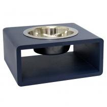 Comedouro Hello Pet Individual Azul - Hello Pet