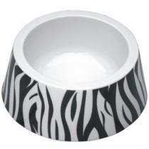 Comedouro Jambo Tigela Plástica - Zebra - Jambo