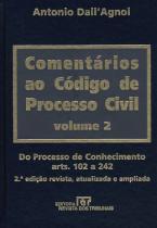 Comentarios ao codigo de processo civil - vol. 2  2ª edicao - Revista dos tribunais