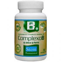 Complexo B 30 Cápsulas - Stem Pharmaceutical