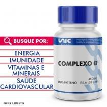 Complexo b 450mg 30 cáps - Unicpharma