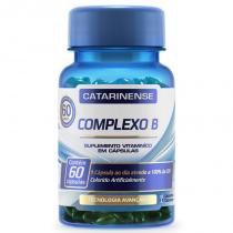 Complexo B - 60 cápsulas - Catarinense - Catarinense pharma