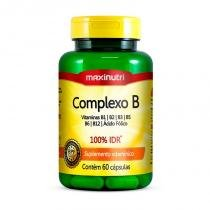 Complexo B - 60 cápsulas - Maxinutri -