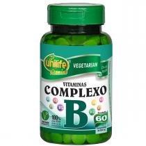 COMPLEXO B 60CAPS  500MG UNILIFE - 60 - UNILIFE