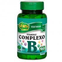Complexo B cápsulas 60 cápsulas Unilife -