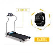 Compre Esteira Ergométrica Johnson TREO T100 e Ganhe Monitor Cardíaco Garmin Forerunner 35 Preto -