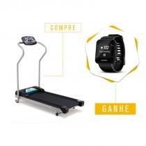 Compre Esteira Ergométrica Johnson TREO T100 e Ganhe Monitor Cardíaco Garmin Forerunner 35 Preto - Johnson