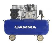 Compresor 220v 2 hp 100 l monofásico - Gamma