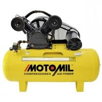 Compressor Air Power 2Cv Trifásico 220V 380V Cmv-10Pl/50 Mt Motomil - Motomil