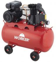 Compressor de Ar 2HP 100 Litros 8 Bar 127V Worker - Worker