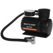 Compressor de Ar + 3 Adaptadores 12 Volts - Multilaser AU601