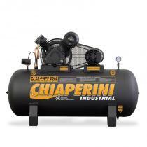 Compressor de ar 3 hp 15 / 200 litros 175 lb trifásico chiaperini - Chiaperini