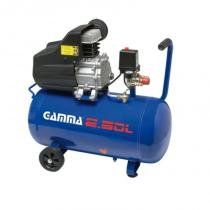 Compressor de Ar 50 Litros 2 HP Monofásico - Gamma - 220v - Gamma