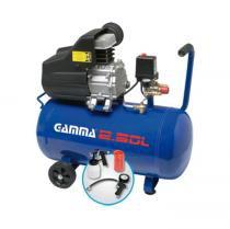 Compressor de Ar 50 Litros com Kit Pintura 2 HP Bivolt G2802KBR - Gamma - Gamma