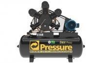 Compressor de ar 60pcm w 360 litros ap on trifásico - Pressure