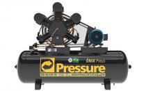 Compressor de ar 60pcm w 5c 425 litros ap on trifásico - Pressure