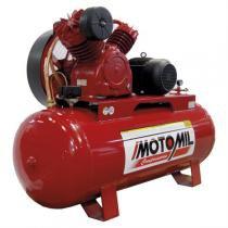 Compressor De Ar 7.5Hp 350Lts 380/660V Trifásico Gav30/350 Motomil - Motomil