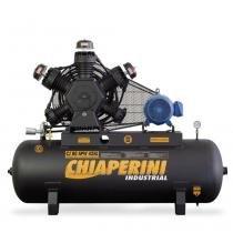 Compressor de ar alta pressão 80 pés 425 litros trifásico contínuo - CJ 80 APW 425L - Chiaperini