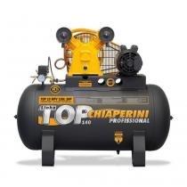 Compressor de ar média pressão 10 pés 150 litros trifási (220/380 (Trifásico)) - Chiaperini
