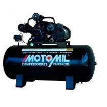 Compressor de ar média pressão 15 pés 175 litros monofásico - CMW 15/175 - Motomil (220V) - Motomil
