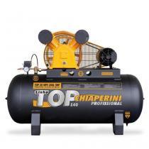 Compressor de ar média pressão 20 pés 200 litros trifásico - TOP 20 MPV 200L - Chiaperini - Chiaperini