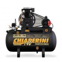 Compressor de ar média pressão 6 pés 70 litros monofásico - 6 MPI 70L - Chiaperini (110V/220V) - Chiaperini