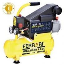 COMPRESSOR DE AR MEGA AIR C-6L 127/220V FERRARI - Ferrari
