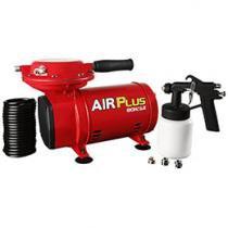 Compressor de Ar Schulz Air Plus com Kit Pintura - Pressão Máxima 40 lbs Potência 1/3 HP 1750 RPM